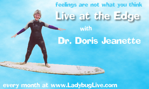 "Liz Vincent on ""Live at the edge"" radio show"